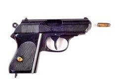 Gun. Photo of gun on white background Royalty Free Stock Photography