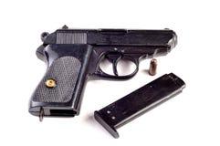 Gun. Photo of gun on white background Royalty Free Stock Images