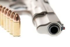 Gun. Weapon - Gun isolated on white background Royalty Free Stock Photos