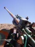 Gun. Big gun, piece of ordnance Royalty Free Stock Image