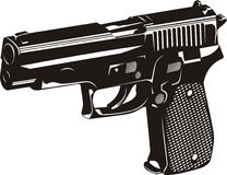 Gun. Vector illustration of a gun Royalty Free Stock Image