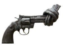 Gun. Illustration of a gun that can not shot Stock Photos