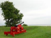 Gun. From Frederikshavn in Denmark stock photo