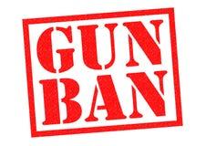 GUN BAN Royalty Free Stock Images