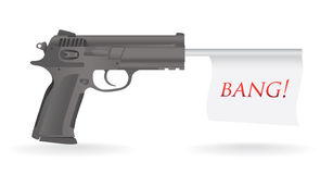 Gun bang Stock Images