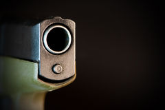 Gun barrel Royalty Free Stock Image