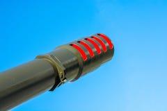 The gun barrel. Stock Photos