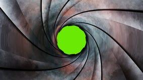 Gun Barrel 3d rendering stock illustration