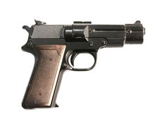 Gun beretta Royalty Free Stock Photo