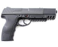 Black handgun Stock Images