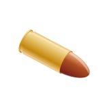 Gun bullet ammo. Clipart of gun bullet ammo Royalty Free Stock Images