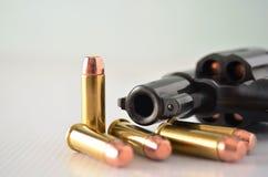 Gun with bullets Stock Photos