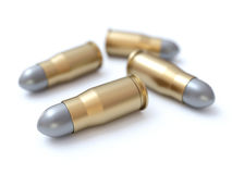 Gun bullets Stock Images