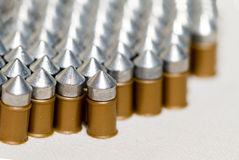 Gun bullets Stock Photos