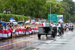 Gun carriage coffin Mr Lee Kuan Yew Singapore Stock Images