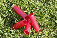 GUN CARTRIDGES Stock Images