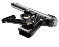 Gun with clip Royalty Free Stock Photos