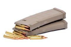 Gun Clips Stock Photography