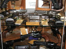 Gun Collectors Dream Stock Photos