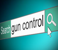 Gun control concept. Royalty Free Stock Images