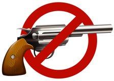 Free Gun Control Sign With Shotgun Stock Image - 61010191
