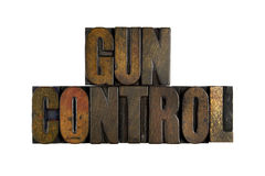 Gun Control Royalty Free Stock Photo