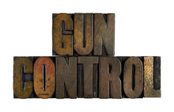 Gun Control Royalty Free Stock Photography