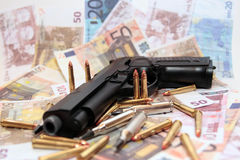 Gun crime 30 Royalty Free Stock Photo