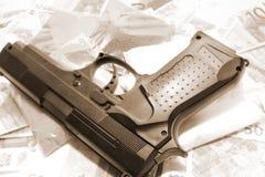 Gun crime 34 Stock Photo