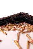 Gun crime Royalty Free Stock Image