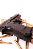 Gun crime Royalty Free Stock Photography