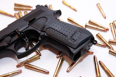 Gun crime Royalty Free Stock Image