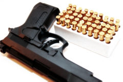 Gun crime Royalty Free Stock Images
