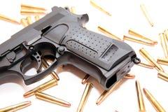 Gun crime Royalty Free Stock Photos