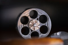 Gun cylinder Royalty Free Stock Images