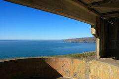 Gun Emplacement Royalty Free Stock Photo