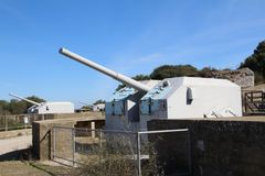Gun emplacement Royalty Free Stock Images