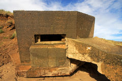 Gun Emplacement Royalty Free Stock Photography