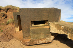 Gun Emplacement Royalty Free Stock Image