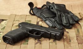 The gun Royalty Free Stock Photography