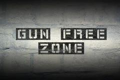 Gun free zone Royalty Free Stock Photos