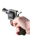 gun handholdingen Arkivbilder