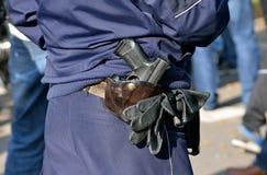 Gun at a holster Royalty Free Stock Photo