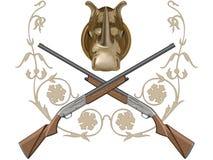 Gun of hunting Stock Image