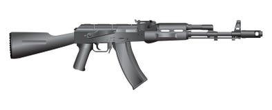 Gun illustration Stock Photos