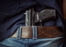 Free Gun In Hand Stock Images - 70100554