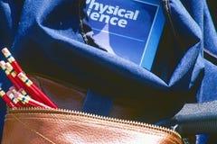 Free Gun In School Backpack Stock Images - 4949434