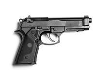 Gun isolated on white Stock Photos