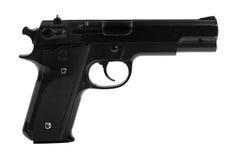Gun isolated on white background Royalty Free Stock Photos