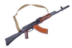 gun Kalashnikov rifle Stock Image